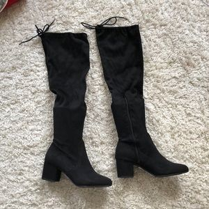 Brand new never worn over the knee boots